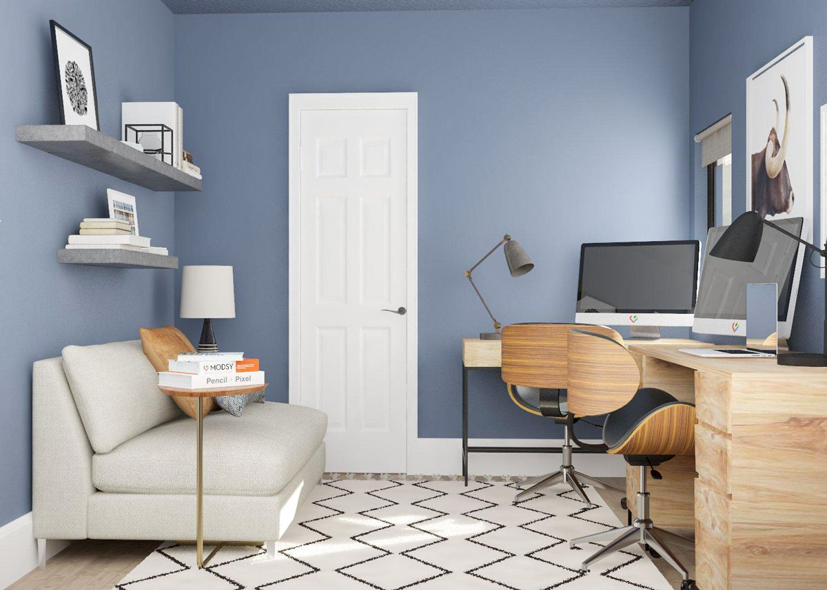 Small Room Ideas Space Savvy Solutions For 5 Tiny Spaces In 2020 Small Rooms Ikea Home Office Small Space Office