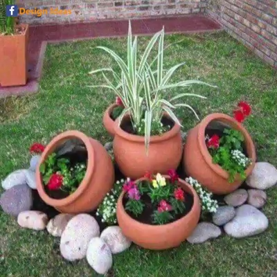 Photo of Fantastic Garden Decoration Ideas With Plants And Flowers.