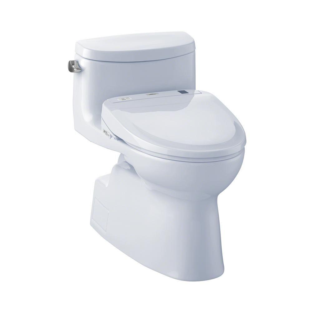 Toto Carolina Ii S300e Connect Washlet Elongated Bidet In Cotton