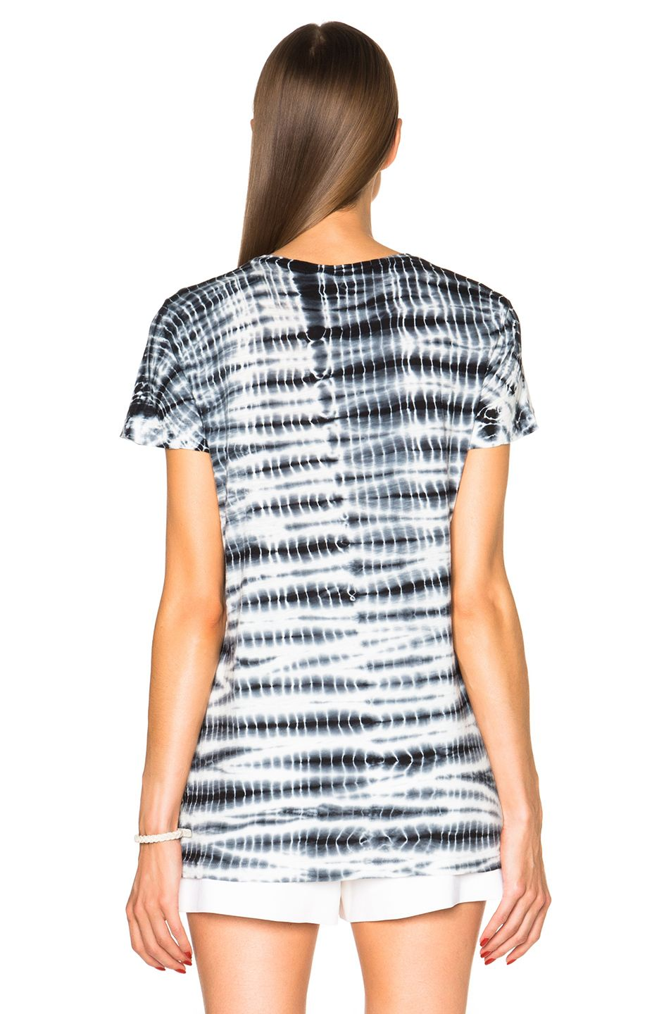 caf6f315a Image 4 of Proenza Schouler Tie Dye Baggy Cotton Tee in Black ...