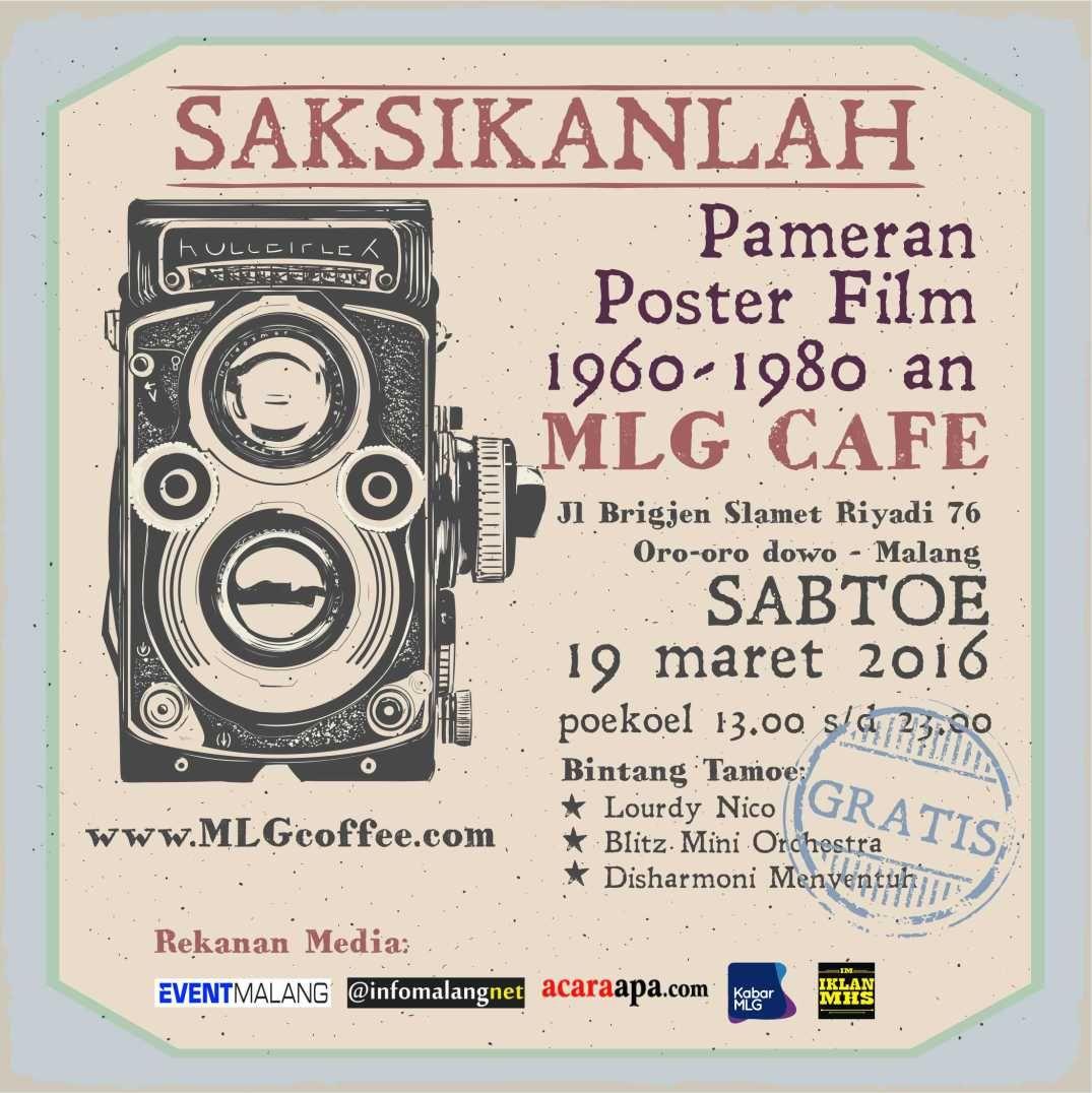 Pameran Poster Pameran Poster Film Poster Film Jadul Tempoe