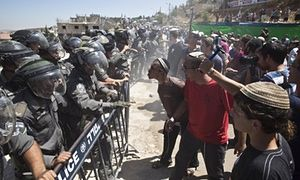 Netanyahu approves more West Bank construction after demolition ruling | World news | The Guardian