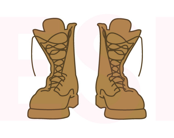 clipart of military boots - photo #15