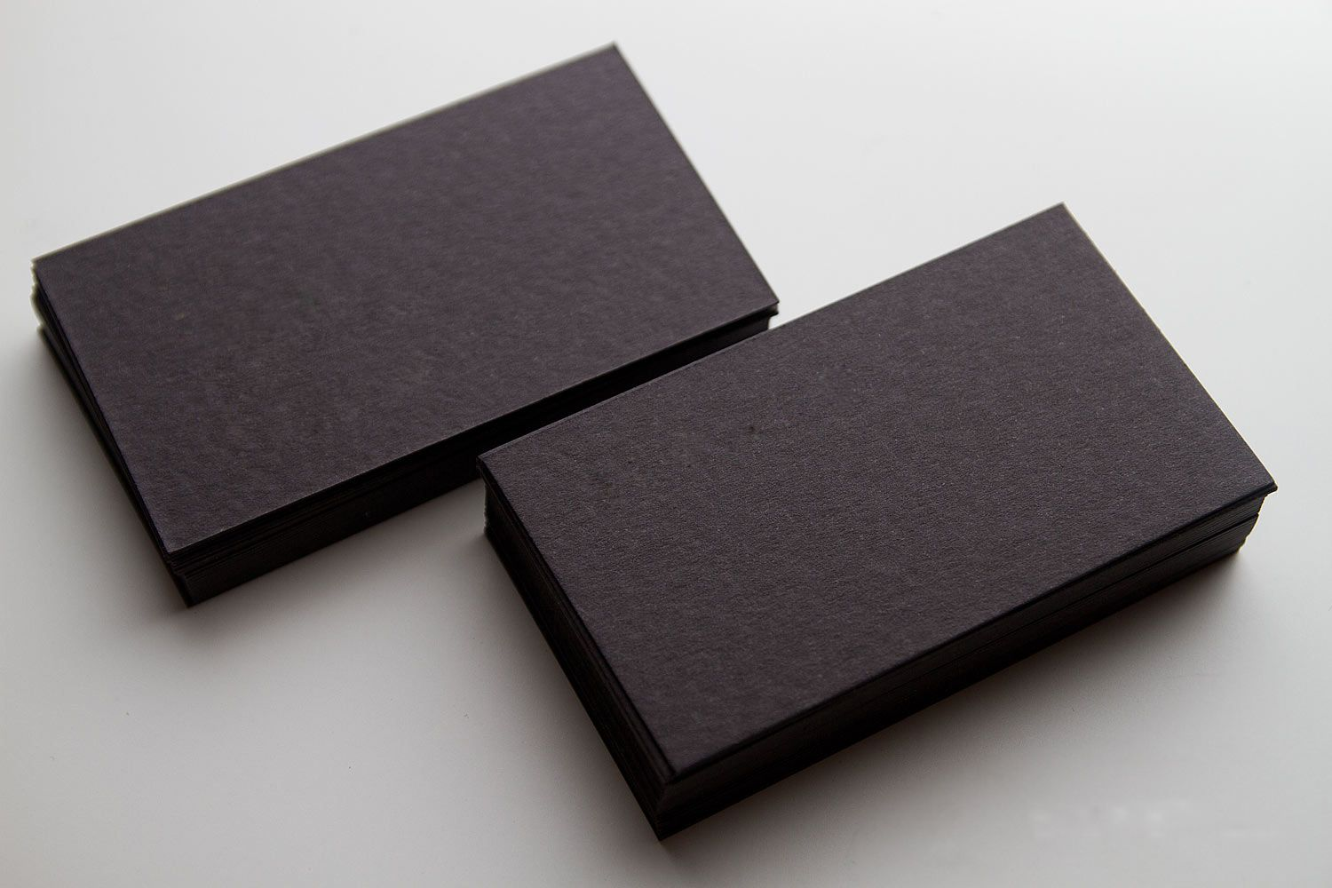 Blank black business cards | Branding | Pinterest | Black business ...