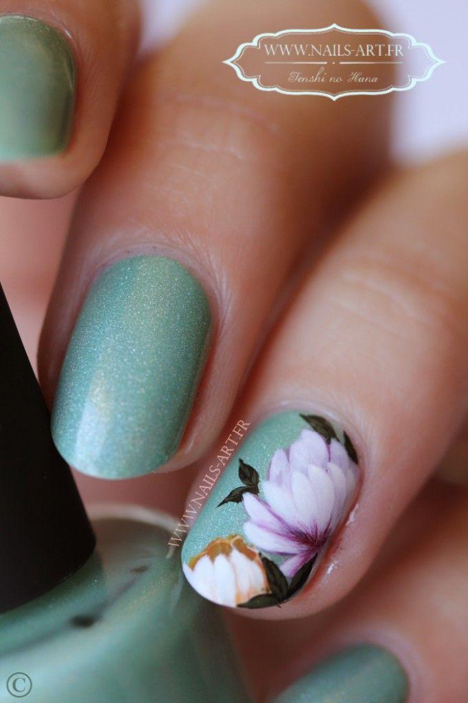 Tenshi #nail #nails #nailart   Nail art   Pinterest   Nail nail ...