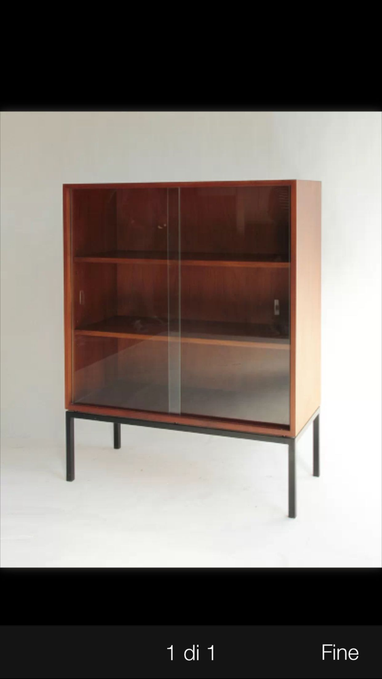 glass highboard