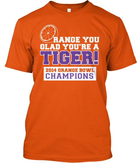 Clemson Tigers 2014 Orange Bowl Champions