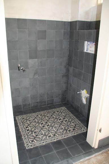 portugese tegels,portugese tegelvloer badkamer serie CIRCLEZ 1 ...