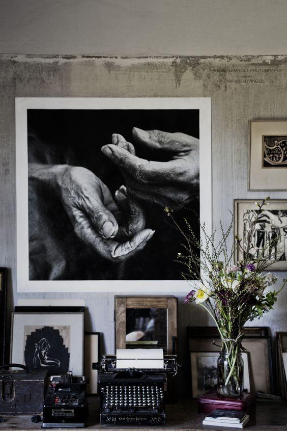 Wonderlijk Grote zwart wit foto's aan de muur | Kunst ophangen, Grote kunst NK-97