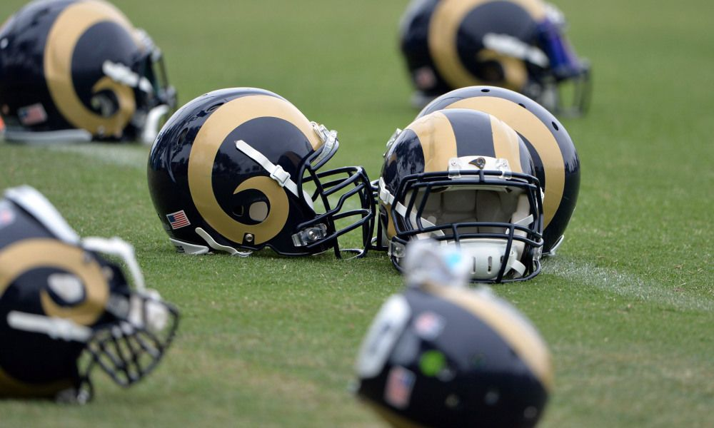Training Camp Preview 6 Must Watch Summer Battles Los Angeles Rams Football Helmets Los Angeles
