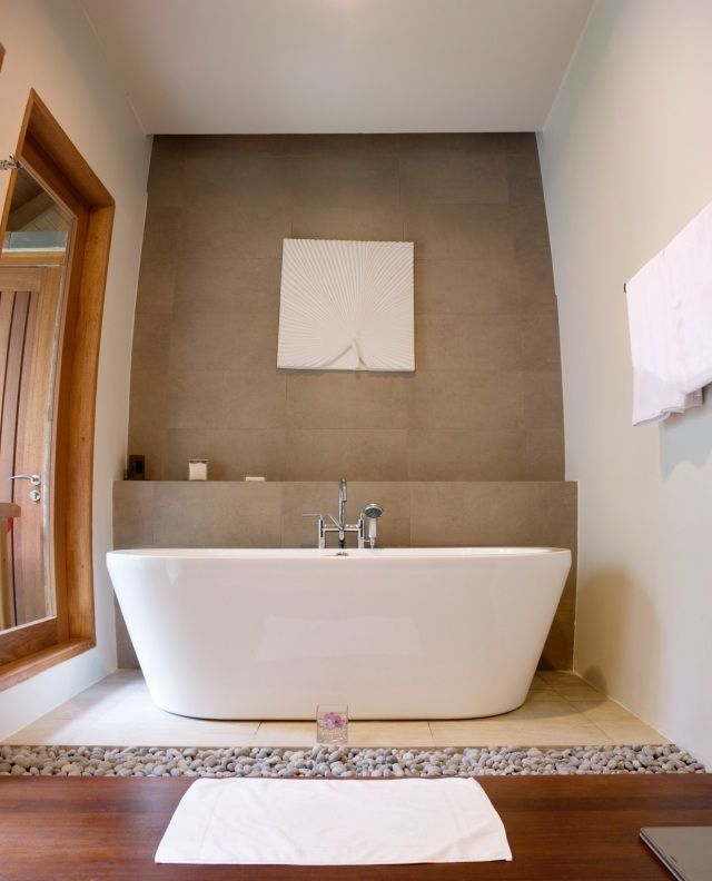 ideen und tipps zum badezimmer gestalten-asiatisch inspiriertes ... - Badezimmer Gestalten