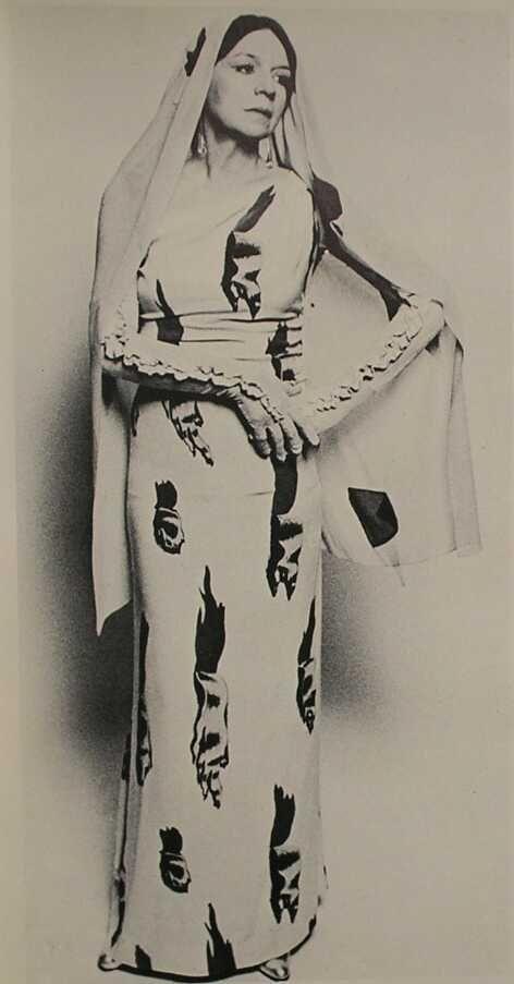 "Elsa Schiaparelli  | ""Tear Dress"" made in collaboration with Salvador Dali, 1938"