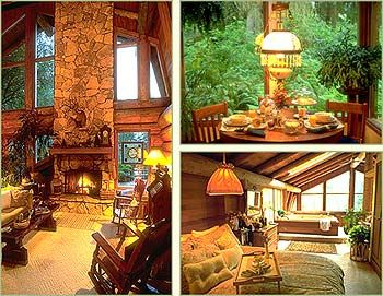 Guest House Log Cottages Whidbey Island, Washington