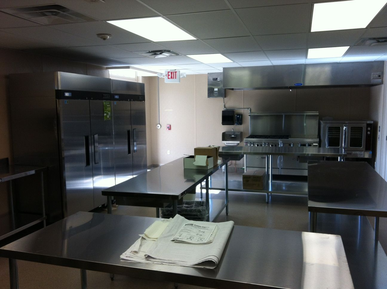 Industrial Church Kitchens  Commercial  Gjw Builder Inc Glamorous Church Kitchen Design Design Ideas