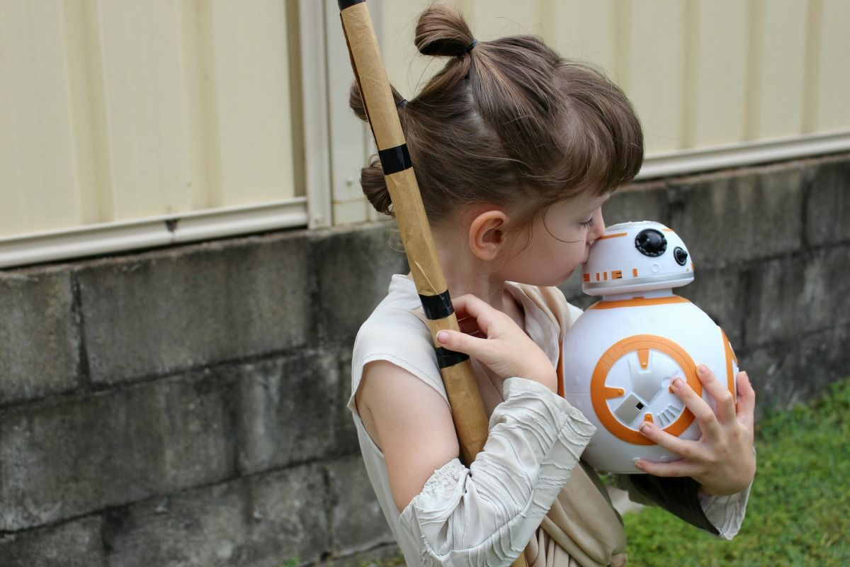 Star Wars' Rey is a Great Role Model for My Daughter