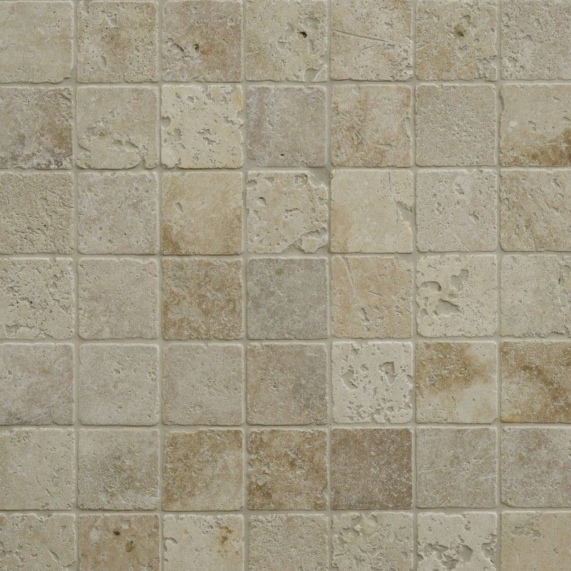 Tumbled White Travertine Tiles 10 X 10 In 2020 Travertine Tile Travertine Tiles