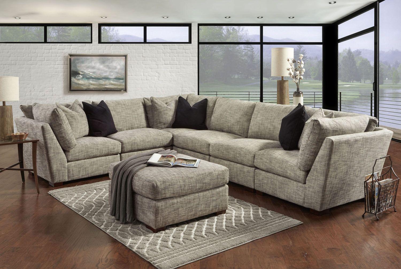 Coogan 6 Piece Modular Sectional Hom Furniture Modular