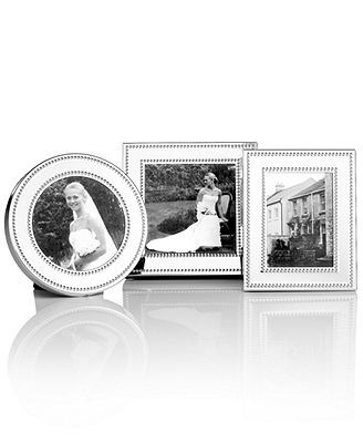 1499 Martha Stewart Collection Picture Frames Set Of 3 Silver