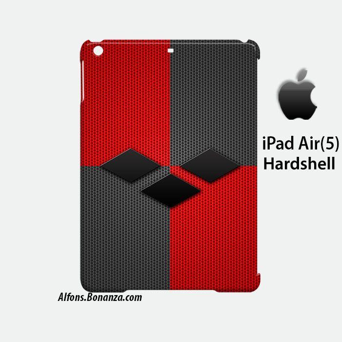 Harley Quinn Style Diamond iPad Air 5 Hardshell Case