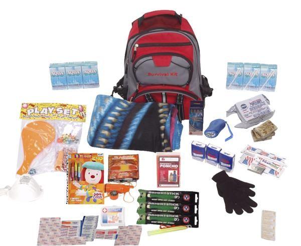 super popular cdc7a ecb4b Children's Emergency Kit | Tips | Kids survival kit ...
