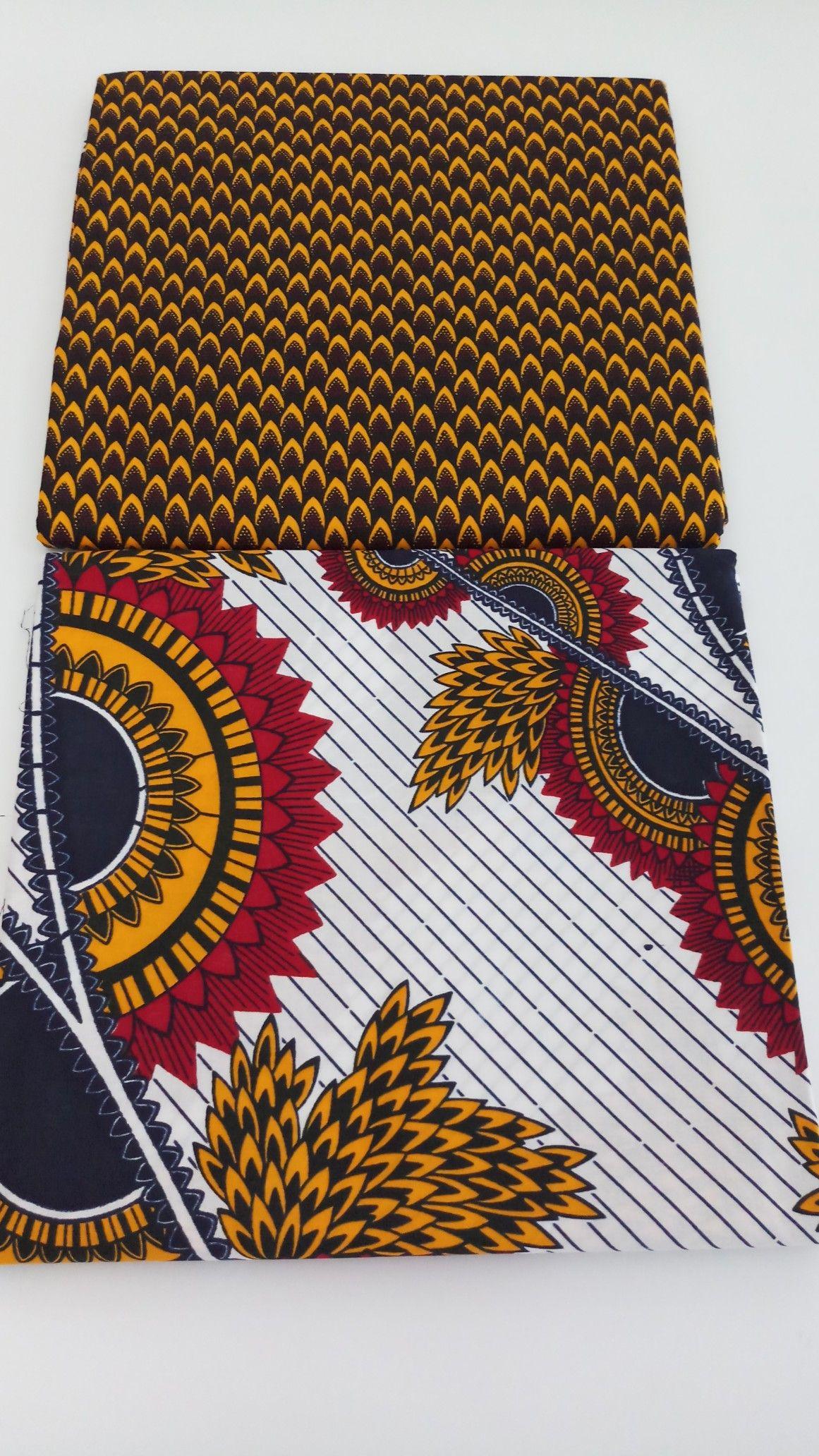 Cotton textured non fade ankara fabrics african textiles