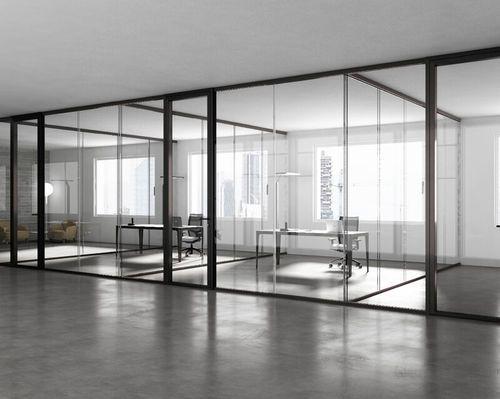 cloison fixe en verre en aluminium en bois 1 2 estel paravents s parations de pi ce et. Black Bedroom Furniture Sets. Home Design Ideas