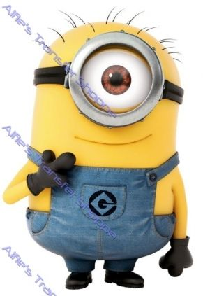 """Despicable Me - Minion - Iron On Heat Transfer 7"""" x 10"""", Crafts :: Other Crafts :: Bullszi.com"""