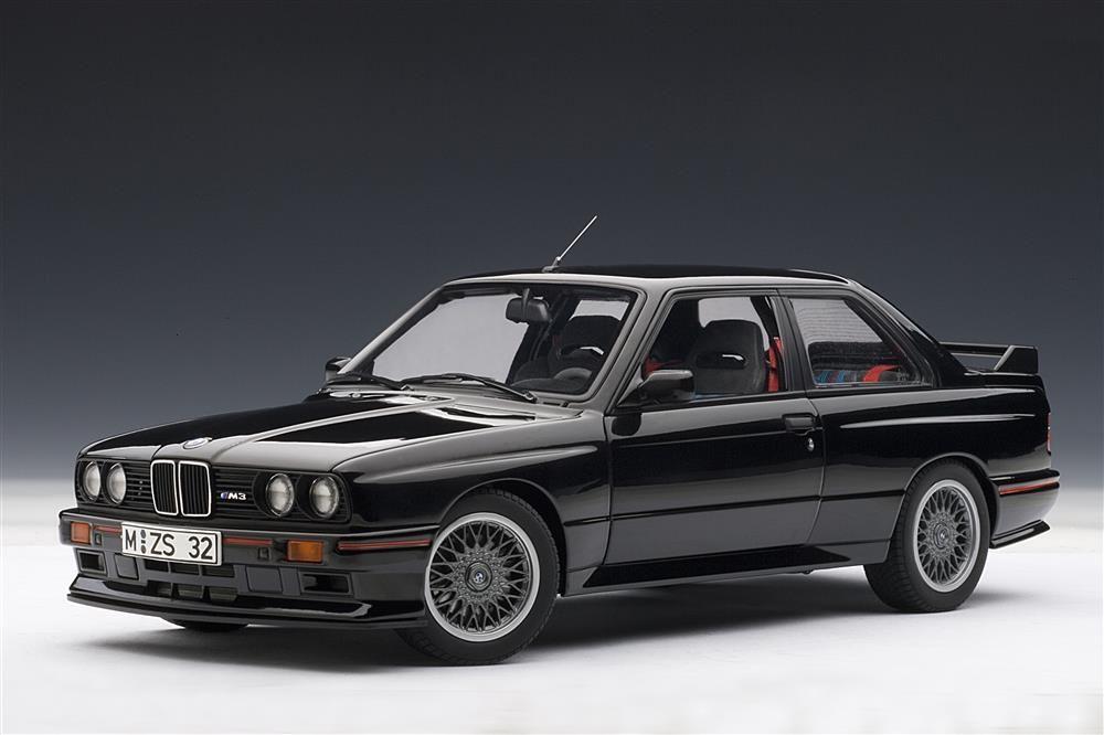 Autoart 1990 Bmw M3 E30 Sport Evolution Black 70562 In 1 18 Scale Bmw E30 M3 Bmw E30 Bmw