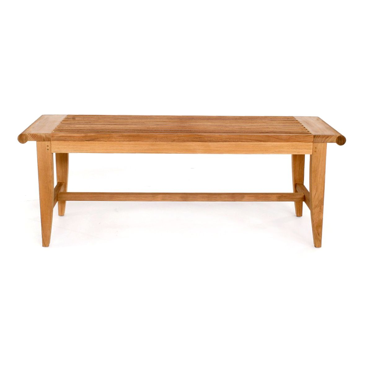 4 Ft Laguna Teak Backless Bench Westminster Teak Teak Outdoor Furniture Teak