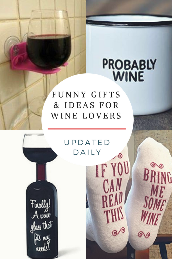 Funny Gifts For Wine Wineaddict