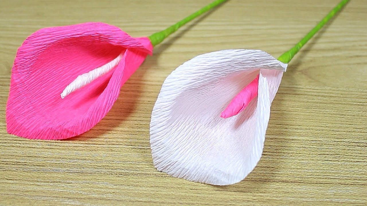 How To Make Paper Flower 2017 Flower Making Of Crepe Paper Diy