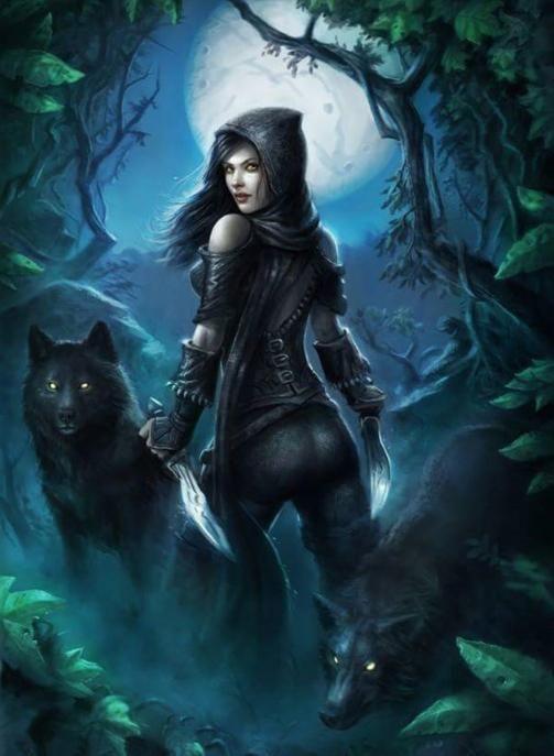 Photo of Vampir-Mädchen und Werwolf