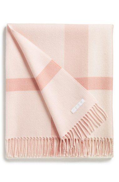 b7d1e9a0a Burberry Merino Wool Baby Blanket