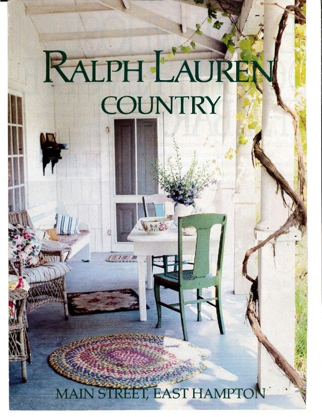 Impresión Inactivo eliminar  Vintage Ralph Lauren Country Home Collection ad (wish I had saved the rest  of it ! )   Ralph lauren, Ralph lauren home, Cottage chic