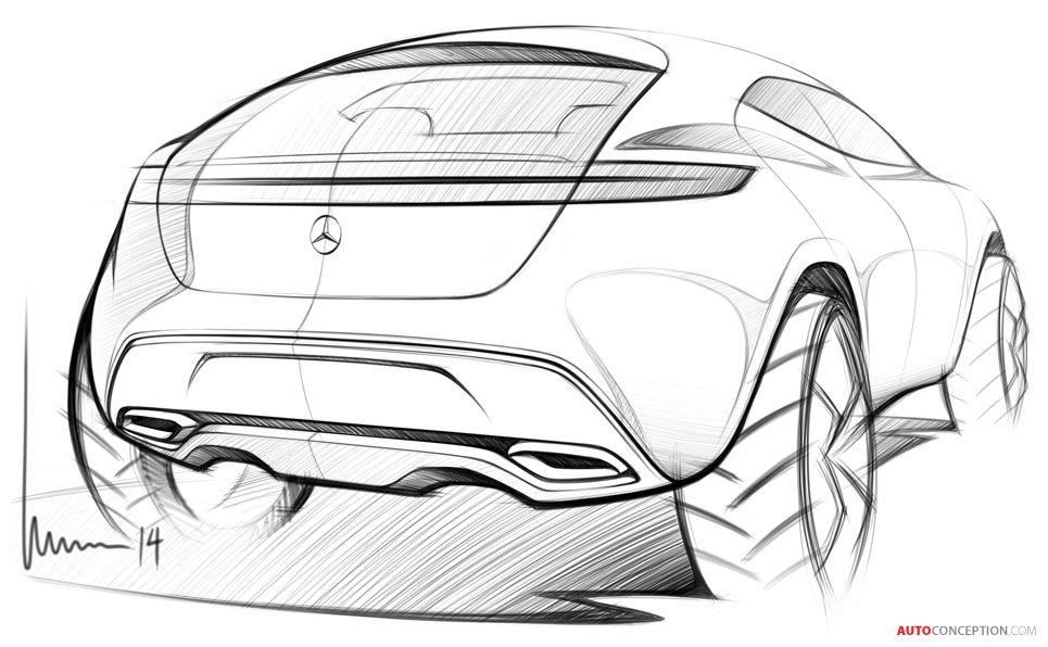 Mercedes Benz G Code Concept Car Gets Inspired By Star Trek Autoconception Com Car Design Sketch Industrial Design Sketch Design Sketch