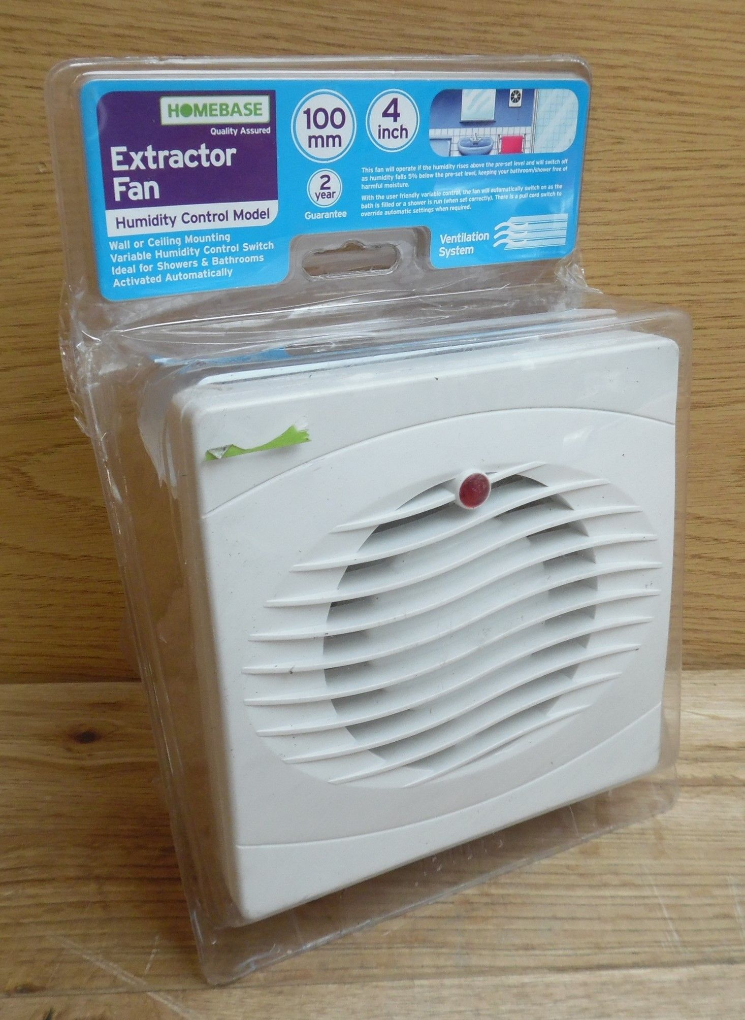 Bathroom Extractor Fan With Light: Extractor Fans For Bathrooms Homebase