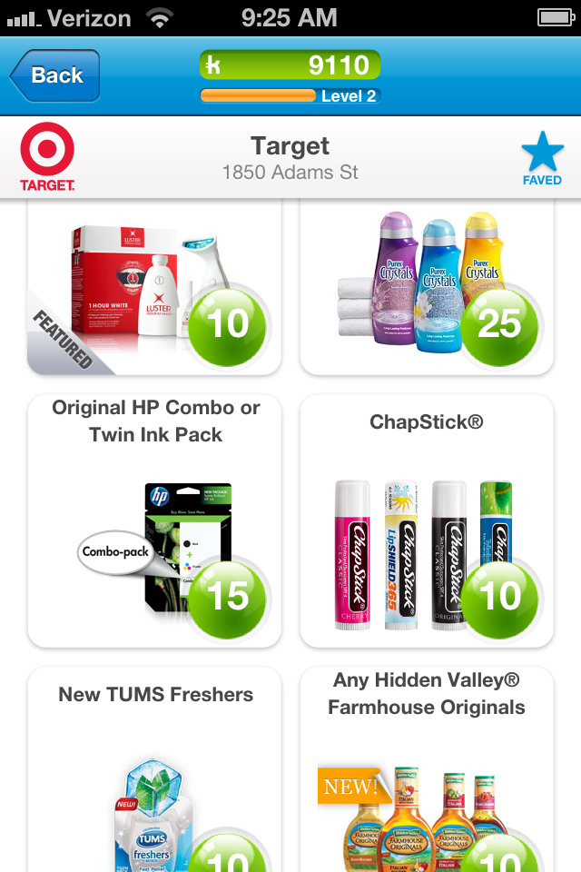 Earn Free Gift Cards Starbucks Target Etc With Shopkick