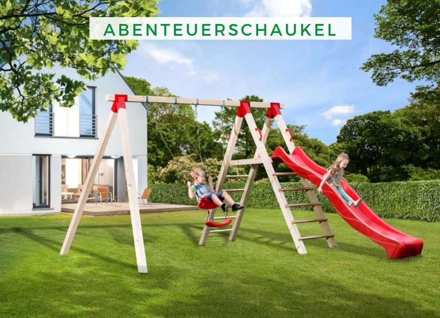 Weka Tabaluga Abenteuerschaukel Inkl Rutsche Schaukel Doppelschaukel Spielplatz