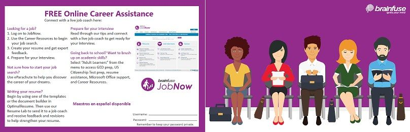 Looking for a new job? Need help with your resume? Jobs Now is a - send resume to jobs