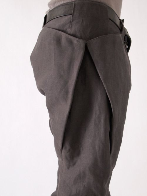 Visions of the Future: oa 8 Pocket Washi (Japanese Paper) Pants | scars, imperfections, and failure.