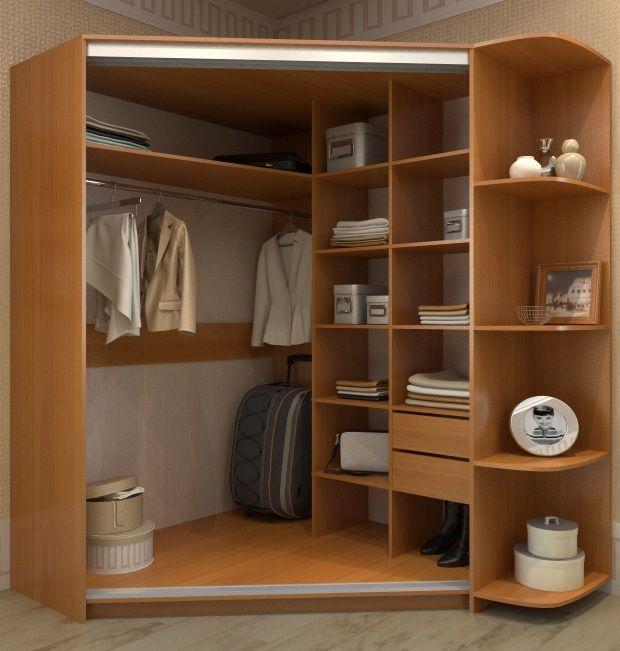 Шкафы Гардероб Полки - Интернет магазин мебели - Шкафы купе Шкаф для одежды