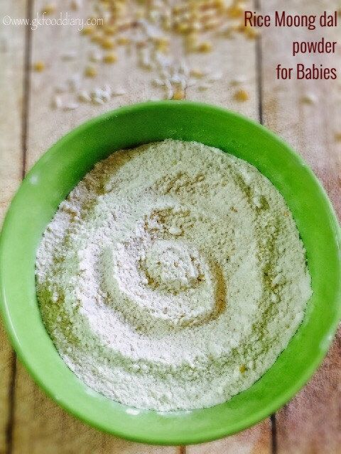 Homemade Rice Dal Powder For Babies How To Make Instant Khichdi