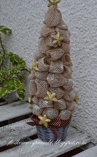 Choinki Z Juty Burlap Wreath Burlap Decor