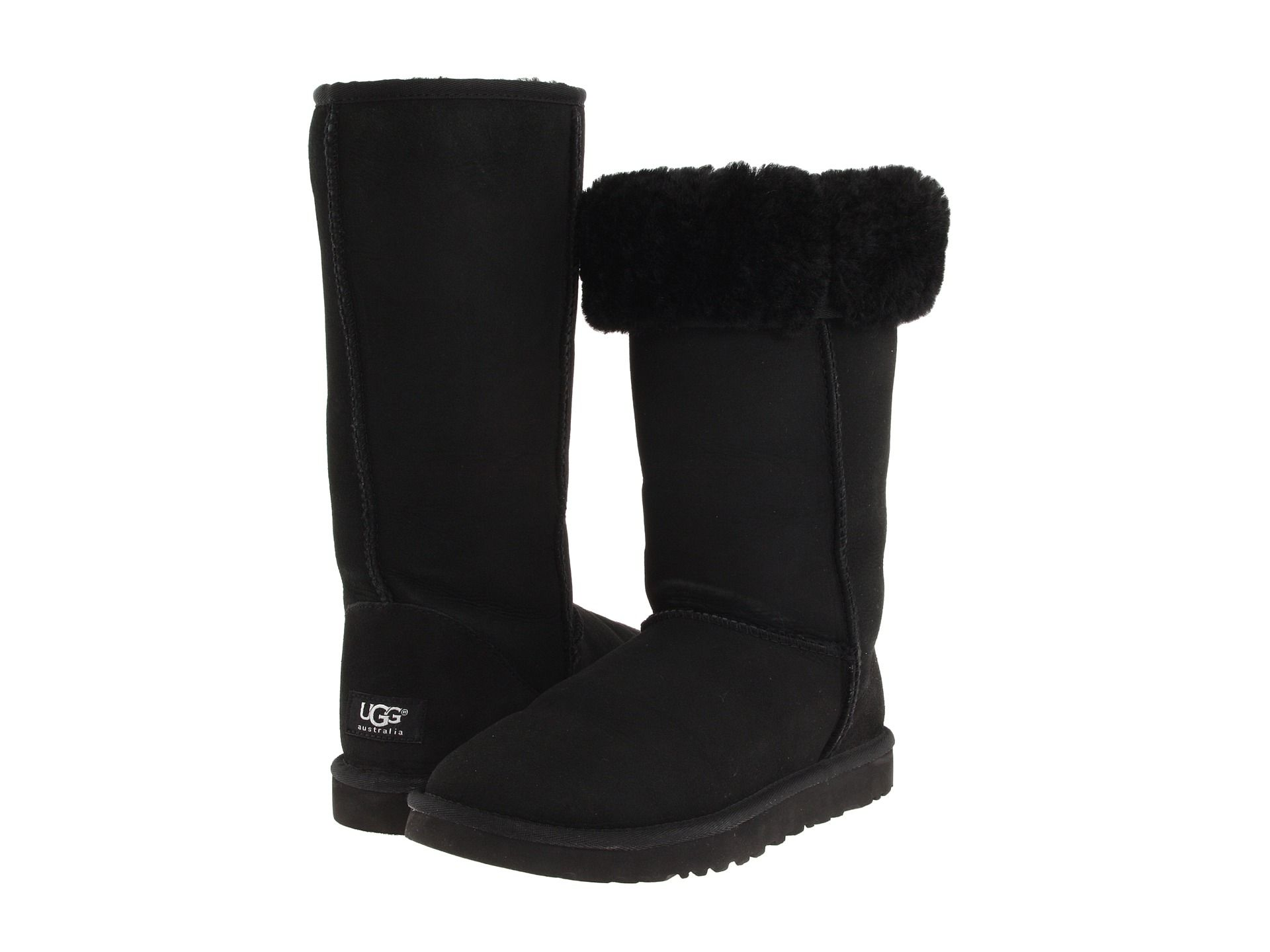 a204f28bb45 UGG Classic Tall Black - Zappos.com Free Shipping BOTH Ways | My ...