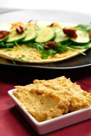 Topfhelden - Rezept für vegane Zucchini-Wraps mit Hummus