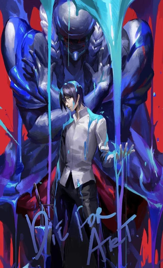 Die For Art Persona5 Persona 5 Anime Persona 5 Persona Five