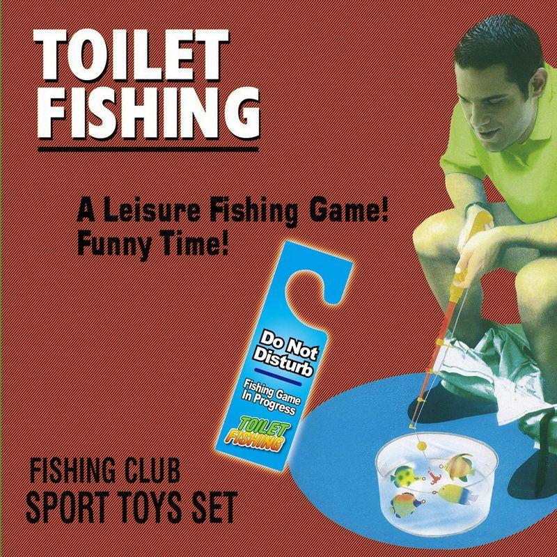 Fairly Odd Novelties FON-10041 Potty Fisher Toilet Game
