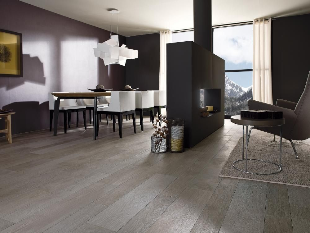 Porcelanosa Grupo Baldosas Ceramicas Oxford Acero 22x90 Wood Effect Tiles Luxury Tile Home Living Room