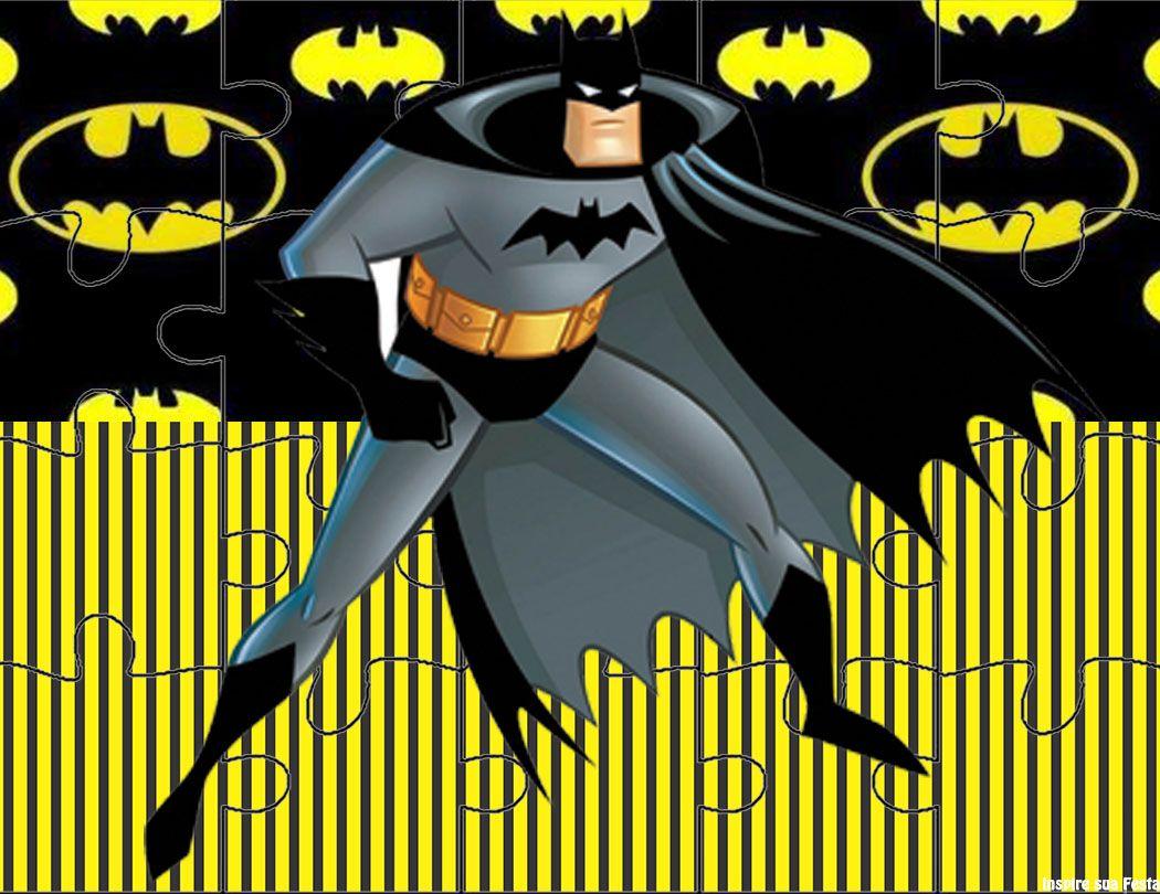 Batman - Kit Festa Grátis Para Imprimir