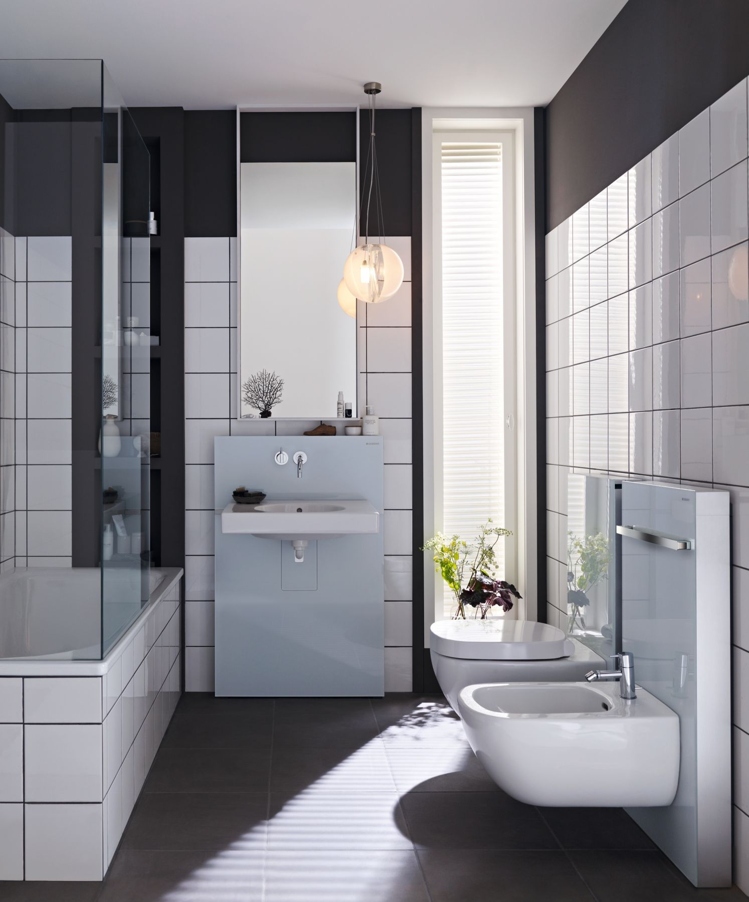 Badezimmer Renovation Bathroom Renovation With Geberit Sanitary Modules Monolith